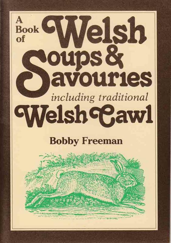Llun o 'A Book of Welsh Soups and Savouries' 
